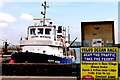 M2208 : The Burren - R477 - Ballyvaghan - Harbour - Happy Hooker by Suzanne Mischyshyn