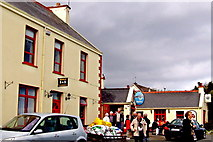 M2208 : The Burren - R477 - Ballyvaghan - Monk's B&B and Pub & Seafood Restaurant by Suzanne Mischyshyn