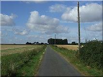 TL1863 : Lane heading west towards Hail Weston by JThomas