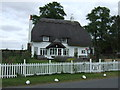 TL1062 : Thatched cottage, West End by JThomas