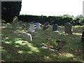 TL0363 : Graveyard, All Saints Church, Riseley by JThomas