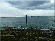 SZ6497 : The Solent Way (276) by Shazz