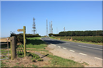 SE9532 : Towards the radio station by Peter Church