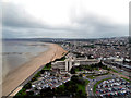 SS6592 : Swansea, Civic Centre and Sea Front by David Dixon