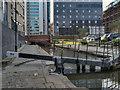 SJ8498 : Rochdale Canal, Dale Street Lock by David Dixon