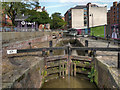 SJ8497 : Rochdale Canal, Lock#87 by David Dixon