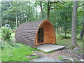 NY3601 : Camping 'pod' at Low Wray Campsite by Anthony Parkes