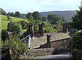 SK2381 : A corner of Hathersage near the church by Andrew Hill