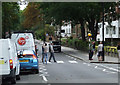 TQ2683 : The Beatles Abbey Road zebra crossing by Thomas Nugent