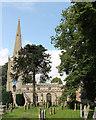 TF0607 : St Michael & All Angels' church, Uffington by J.Hannan-Briggs