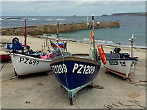 SW3526 : Harbour at Sennen Cove 2 by Jonathan Billinger