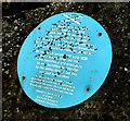 J4493 : Edward Brice plaque, Ballycarry  (1) by Albert Bridge