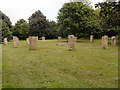 SO3013 : Gorsedd Stones, Abergavenny by David Dixon