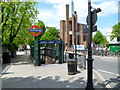 TQ2682 : An entrance to Warwick Avenue Underground Station, London W9 by Jaggery