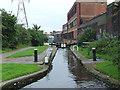 SP0987 : Garrison Middle Lock No 61 near Saltley, Birmingham by Roger  Kidd
