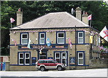 SE1421 : Rastrick - The Junction by Dave Bevis