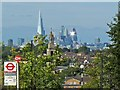 TQ3280 : London skyline from the south by Robin Drayton