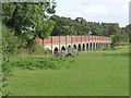 SK7856 : Smeaton's arches, near Muskham Bridge  by Alan Murray-Rust
