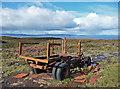 NG3960 : Remains of a Bedford truck by John Allan