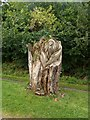 SK1574 : Sculpture in Tideswell Dale by Graham Hogg