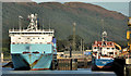 J1318 : Warrenpoint harbour (4) by Albert Bridge