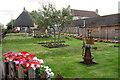 SP9735 : Garden on the corner of Eversholt Road by Philip Jeffrey