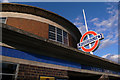 TQ2992 : Arnos Grove Underground Station by Julian Osley
