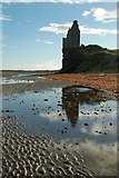 NS3119 : Greenan Castle by Mary and Angus Hogg