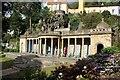 SH5837 : The Bristol Colonnade, Portmeirion by Jeff Buck