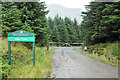NN2206 : Forestry road, Glen Croe by Steven Brown