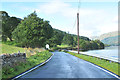 NS1984 : Minor road near Gairletter Point by Steven Brown