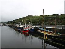 SC2484 : Boats in Peel harbour by Andrew Abbott