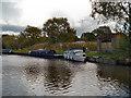 SJ9483 : Victoria Pit Moorings, Macclesfield Canal by David Dixon
