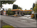 SJ8781 : Shell Petrol Station, Dean Row by David Dixon