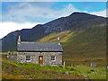 NG9447 : Coire Fionnaraich Bothy by John Allan