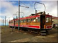 SC3987 : Snaefell Mountain Railway car no 5 by Andrew Abbott