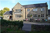 """SK2572 : """"The Devonshire Arms"""" in Baslow by Neil Theasby"""