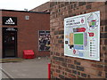 NJ9407 : Welcome to Pittodrie Stadium by Colin Smith