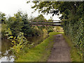 SJ9687 : Peak Forest Canal, Farm Access Bridge by David Dixon