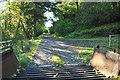 NM8625 : Farm road to Dunach by Steven Brown