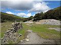 SD9499 : Site of crushing mill, Gunnerside Gill by Trevor Littlewood