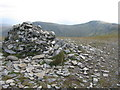 NN4949 : Meall Buidhe Summit Cairn by G Laird