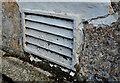 "J2664 : ""Carron"" ventilation grille, Lisburn by Albert Bridge"