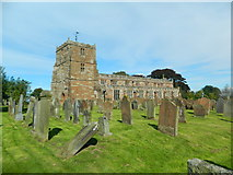 NY3767 : Church of St Michael & All Angels, Arthuret by John Lord
