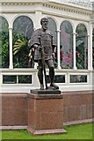 SJ3787 : Prince Henry The Navigator Statue, Sefton Park, Liverpool by El Pollock
