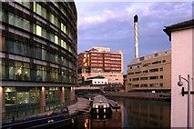 TQ2681 : Dusk on the Canal, Paddington by Des Blenkinsopp