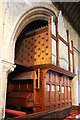 TF0733 : The Organ, St Andrew's church, Folkingham by J.Hannan-Briggs