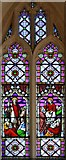 TL3852 : Assumption of the Blessed Virgin Mary, Harlton - Stained glass window by John Salmon