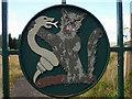 NO1464 : MacThomas badge, Clach-na-Coileach, Glen Shee by Karl and Ali