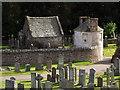 NO7095 : Banchory St Ternan Kirkyard by Colin Smith